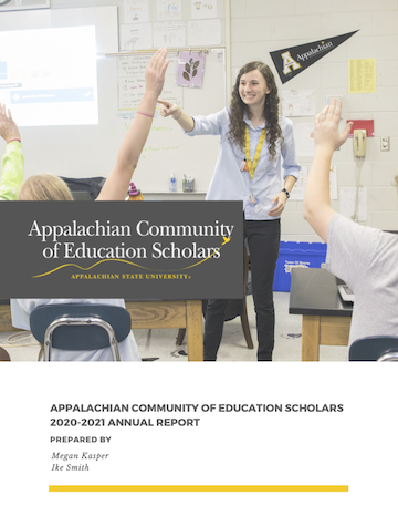 ACES Annual Report 2020-2021 Cover