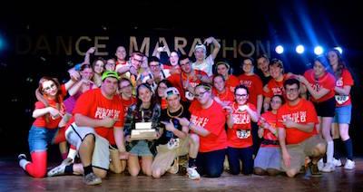 students at Dance Marathon